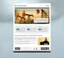 US Oil and Gas Association Website Relaunch by tuEraN