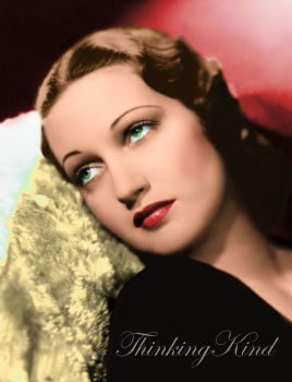 Dorothy Lamour Colorised by ThinkingKind