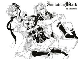Vocaloid: Imitation Black by adward6478