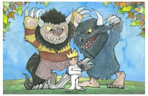 re:Where the Wild Things Are by mjfletcher
