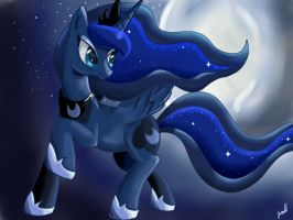 Princess Luna by Wolfais