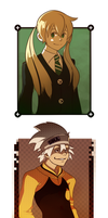 Soul Eater Portraits by LoftyAnchor