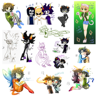 Homestuck_Doodles by Myen-Nyan