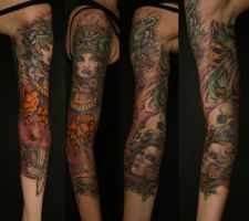 Mother earth sleeve by Rikuturso
