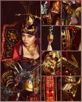 Atlantica Online cosplay: Himiko in details by alberti