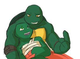tmnt 2K3raph And 2K12raph by Dragona15