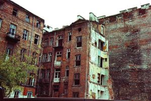 Warsaw 108 old tenement house by remigiuszScout