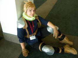 AX10: Cloud Cosplay by Silver-Solace