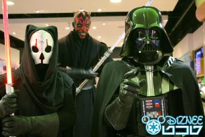 3 Darth's 4 by d1znee