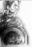 Captain America - Charcoal by samui153