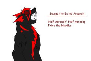 Savage The Exile by GrimmWolf360