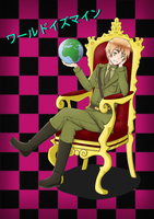 [Hetaloid England] - World is mine by roona-chan