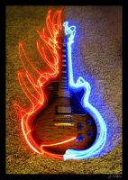Guitar Light Playin' by JoE-EviL