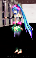 Dont Go. . . by TheMangle-MMD