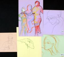 Life Drawing Examples by TheArtHobo