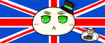 APH Mochi England with Tea and Scones :3 by Shuru10