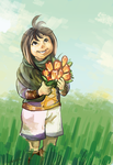 Fan's Flowers by wolfie-janice