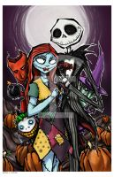 jack and sally by mjfletcher