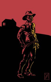 Two Tone Cowboy by Captroop
