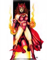Scarlet Witch by dell