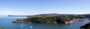 Panorama of Fishguard by LASlocombe