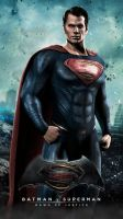 SUPERMAN (Batman v Superman: Dawn of Justice) by JPGraphic