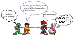 Talking (megaman styled) by Terry93