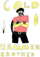 It's Me Gold Hammer Brother by Goldhammerbro