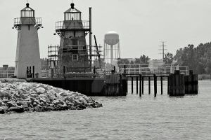 Lighthouses of Green Bay 2 by GeicherPhotography