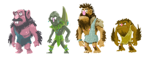 More cavemen by gsilverfish