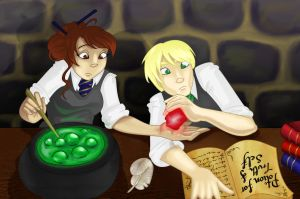 Potions Class by SnowFright