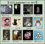 Summary of Art 2015 by rockgem