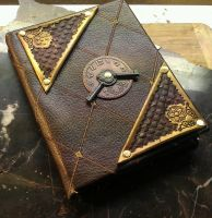 Leather Fabric Book by StudioGruhnj