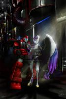 Ironhide and Silverlight by CaroRichard