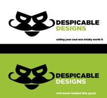 Despicable Designs Logo by Agent-Reaper