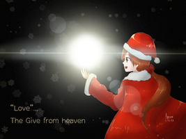 Love..the give from heaven by AquanaKnight
