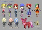 Adoptable : All My Adoptables [OPEN] by Tzenor