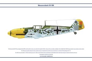Bf 109 E-4 JG26 1 by WS-Clave