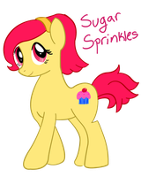 Sugar Sprinkles - Pony OC by JadedAmethyst