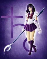 Sailor Saturn by kadda1212