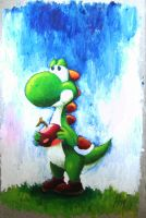 Yoshi again by Jebey