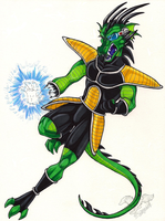 Dragonball Z Dragon Dude by StangWolf