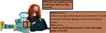 Merida and Tillie random moment #2 by hot293wildcat