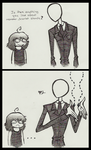 Slenderman comic by Cageyshick05