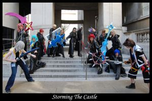 Storming The Castle by Castle-Oblivion-UK