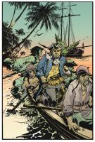 Treasure Island color by deankotz