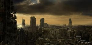 Survivor Closeup Mattepainting by Jacklionheart