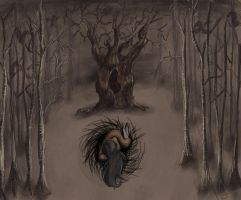Dendrophobia horror by LiluSkitten