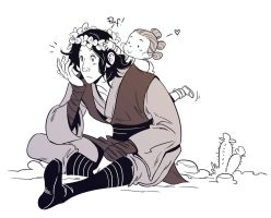Ben and Rey by OlayaValle