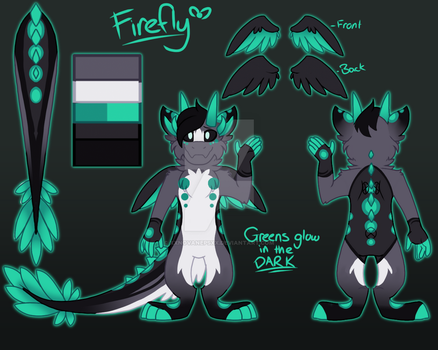 Firefly Reference Sheet by MidnightSketches